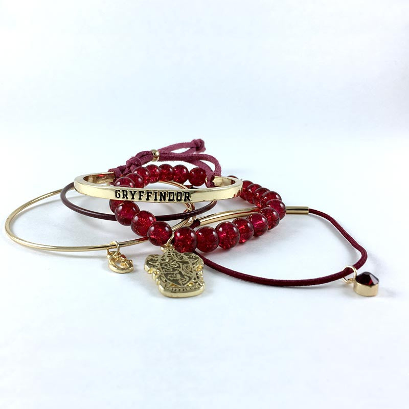 "Harry Potter Bracelets - Gryffindor ""Arm Party"""