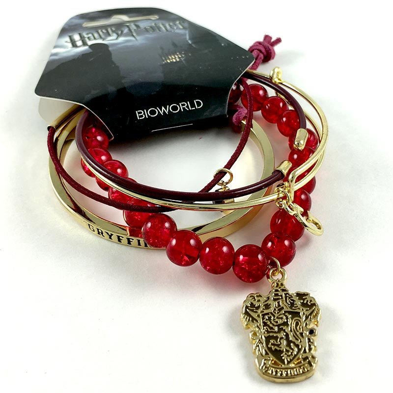 "Harry Potter Bracelets - Gryffindor ""Arm Party"" Bracelets"