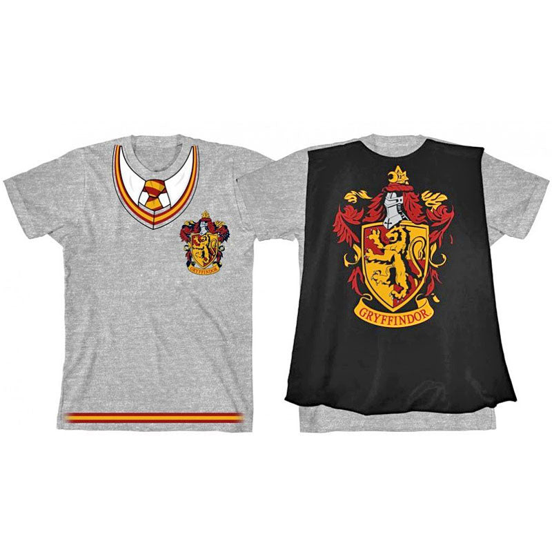 Harry Potter Gryffindor Caped T Shirt (Youth)