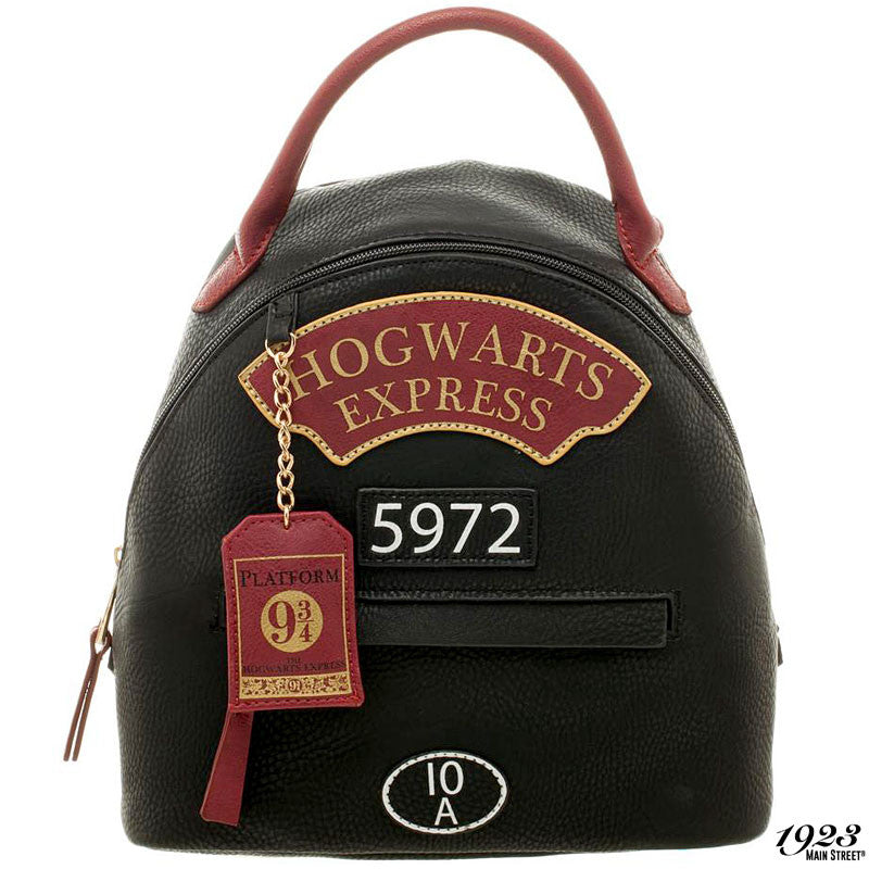 Harry Potter Hogwarts Express Mini Backpack with Charm