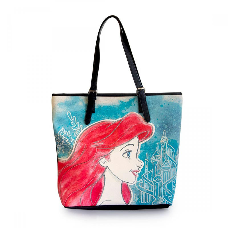 Loungefly's Disney Princess Ariel Little Mermaid Tote Bag for Mother's Day