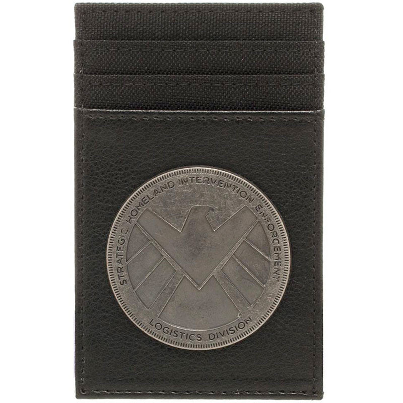 Marvel Agents of Shield Front Pocket Wallet