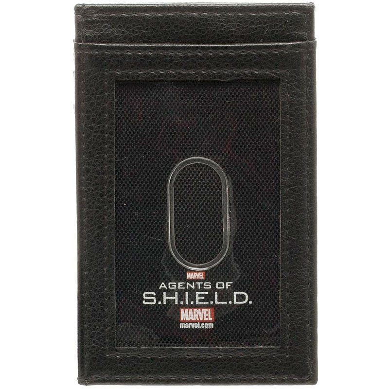 Marvel Agents of Shield Front Pocket Wallet, Back