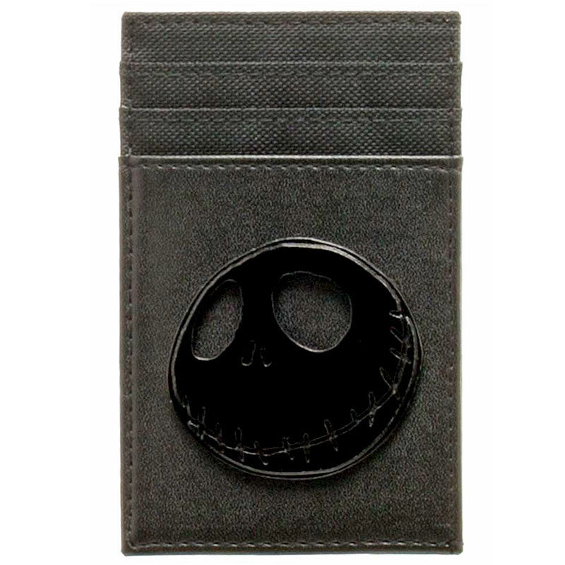 Nightmare Before Christmas Jack Skellington Front Pocket Wallet