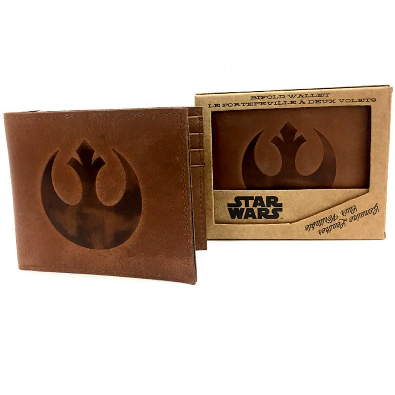 Star Wars Leather Wallet - Rebel Alliance (bifold wallet)