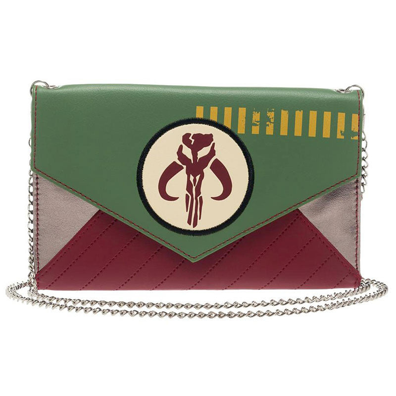 Star Wars Wallet - Mandalorian Envelope Wallet with Chain