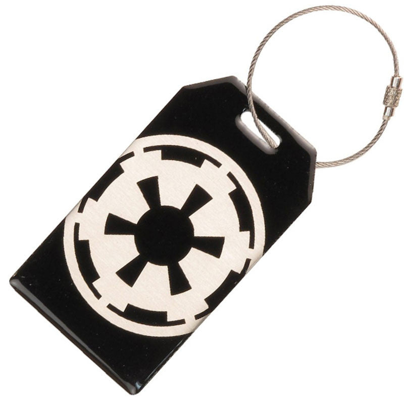 Star Wars Bag Tag - Aluminum Imperial Empire Luggage Tag