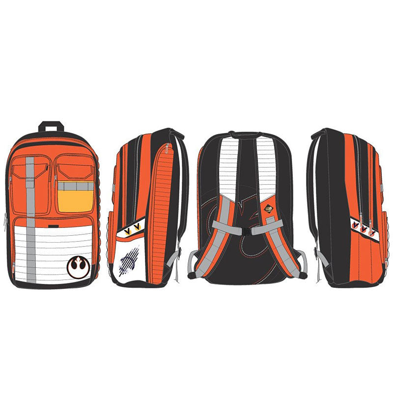 Star Wars Rebel Alliance Backpack multi view