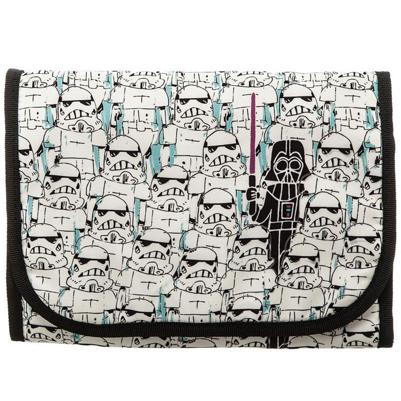 Star Wars Stormtrooper Cosmetic Bag with Darth Vader