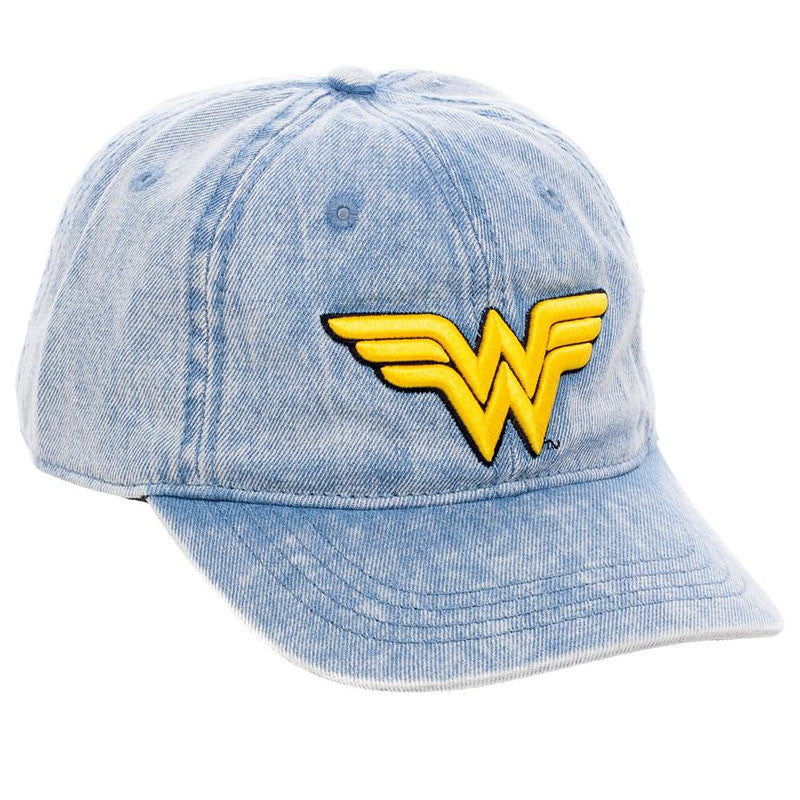 Wonder Woman Denim Ball Cap