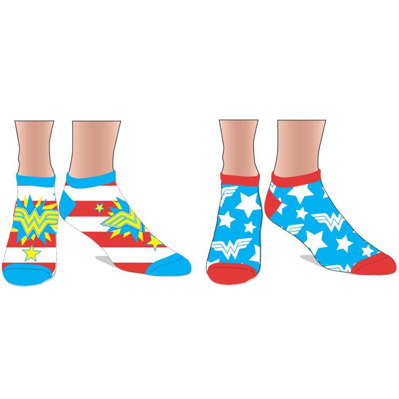 Wonder Woman Ankle Socks - 2 Pack