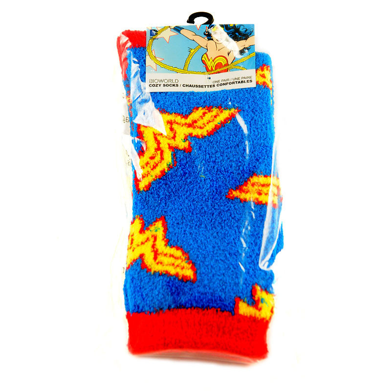 Wonder Woman Socks, Cozy Crew Socks