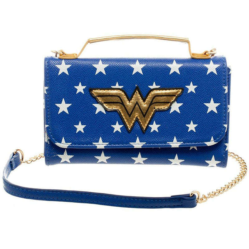 Wonder Woman licensed clutch purse