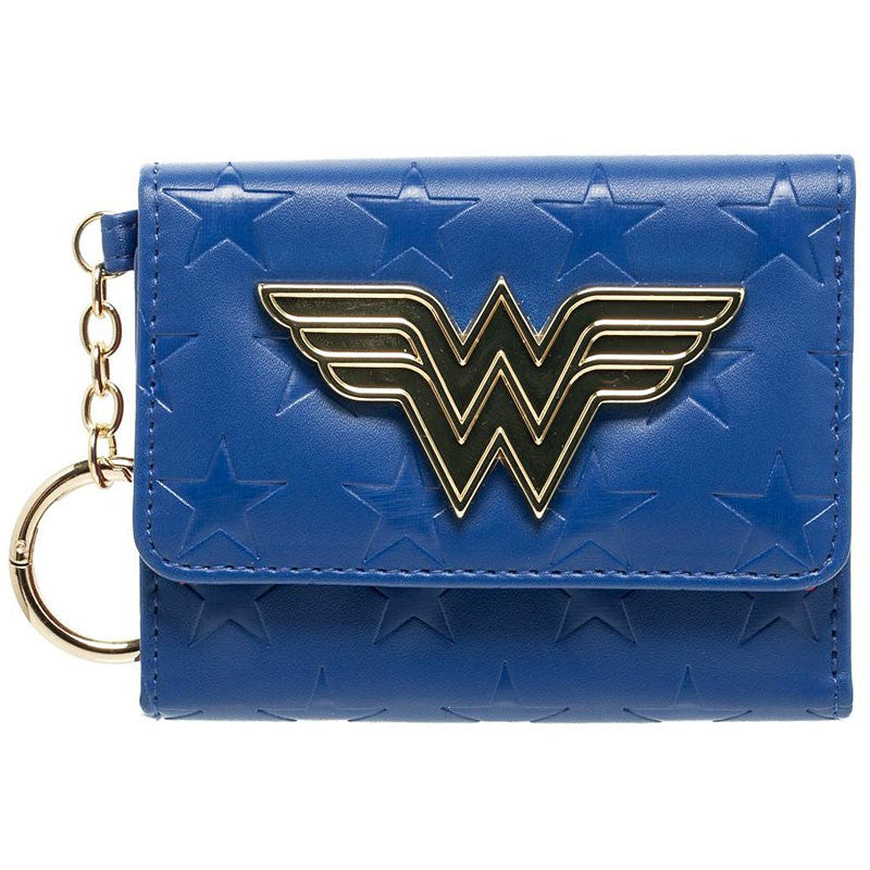 Wonder Woman Wallet, Mini Trifold