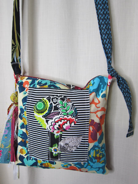 Flower Patchwork Bag