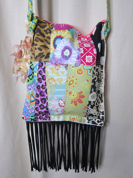 Patchwork Over the Shoulder Bag