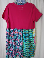 Hot Pink Empire Tunic  ~ XLarge