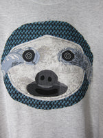 Patchwork Sloth Tshirt ~ 2X