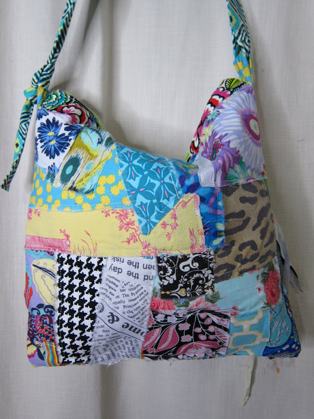 Crazy Patchwork Handbag