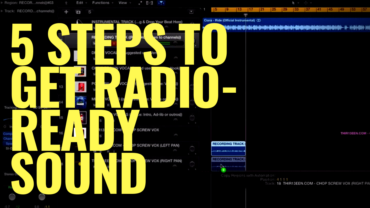 5 STEPS TO GET RADIO-READY SOUND