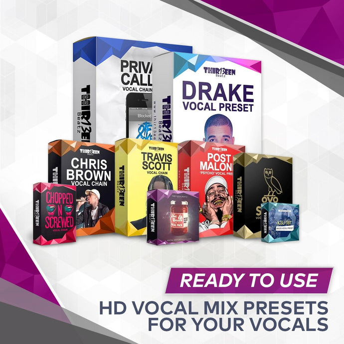 Vocal Presets for Logic X Pro That Will Make You Sound Like a Professional
