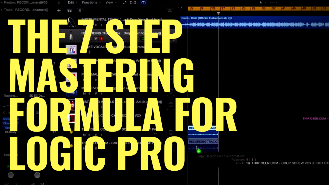 The Original 7 Step Mastering Formula