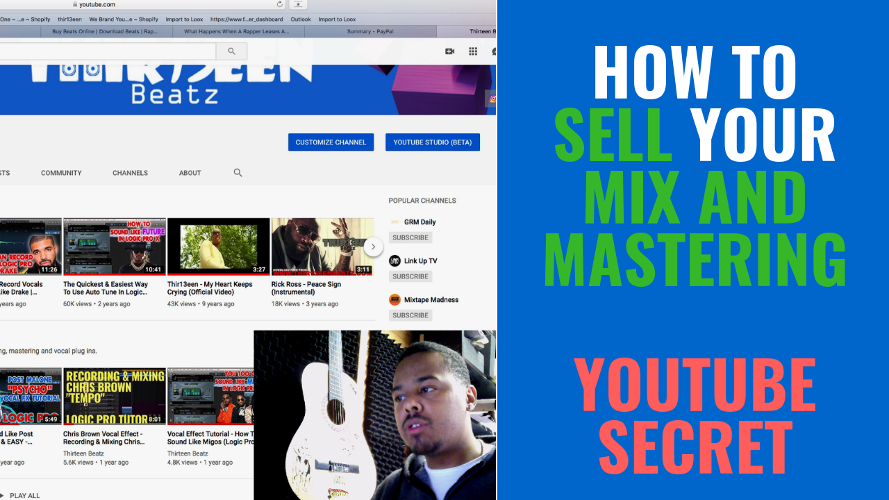 How To Sell Your Mix & Master Service - Youtube Secret
