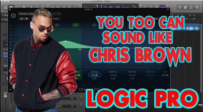 You Too Can Record Vocals In Logic Pro Like Chris Brown | Tutorial