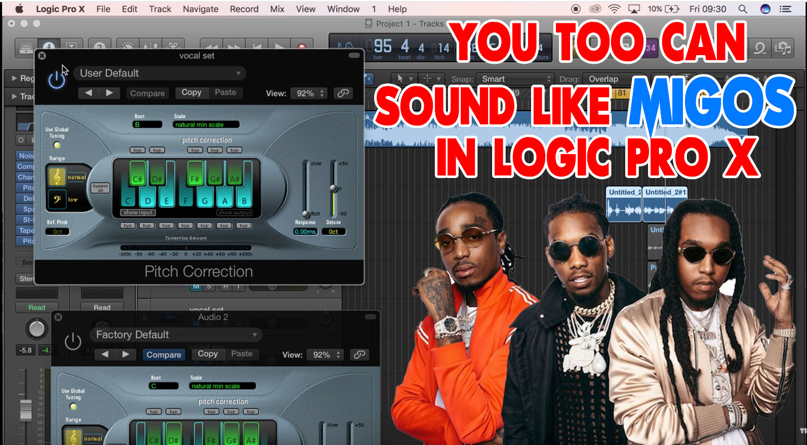 Vocal Effect Tutorial - How To Sound Like Migos (Logic Pro)