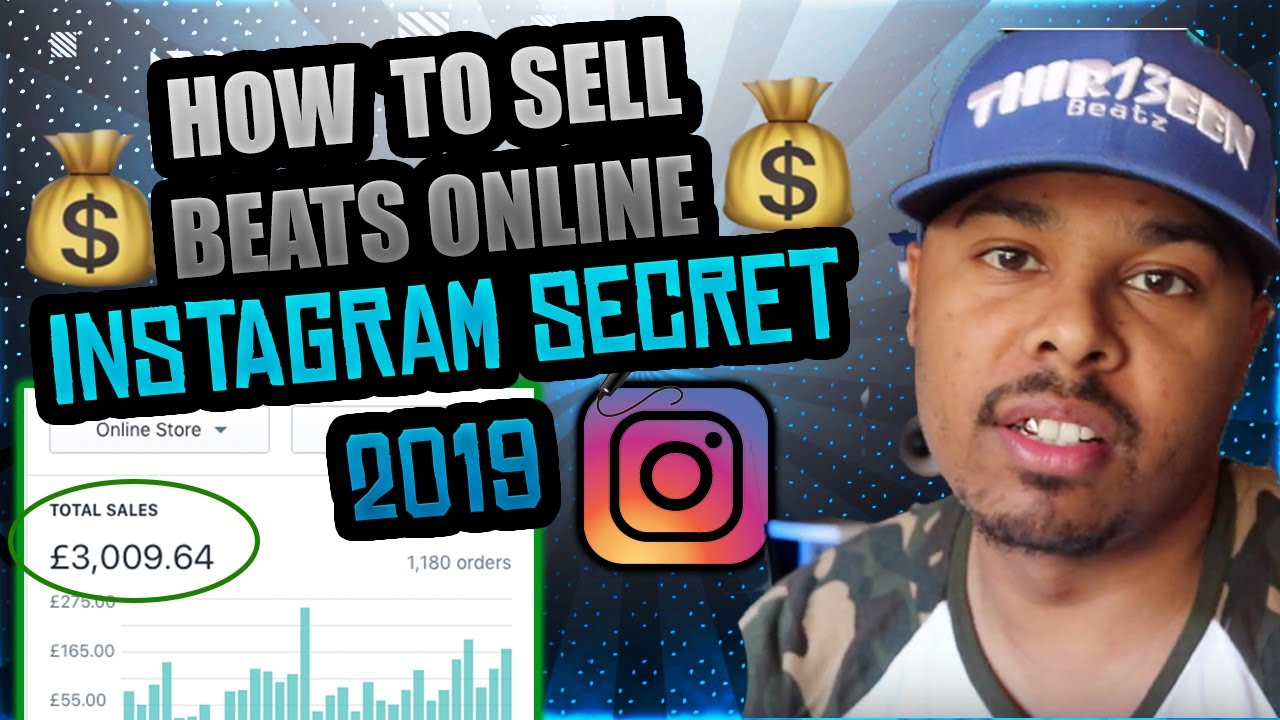 How To Sell Beats Online - Instagram Secret 2019