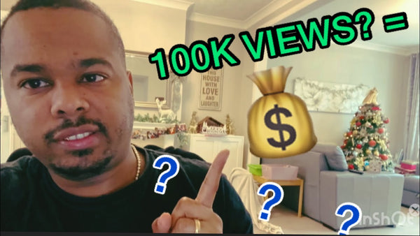 How Much YouTube Paid Me for 100K Views?