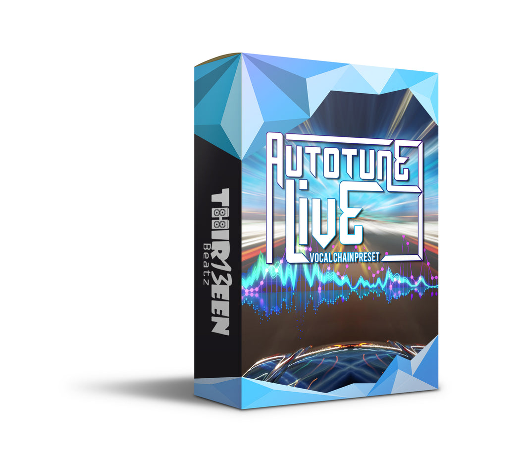 AUTOTUNE LIVE VOCAL CHAIN PRESET FOR LOGIC PRO