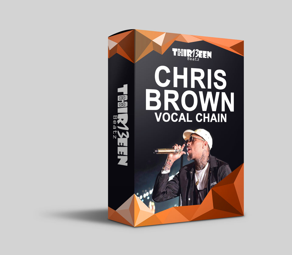 Chris Brown Vocal Chain Preset For Logic Pro - FX