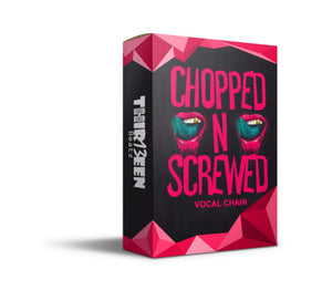 CHOPPED N SCREWED VOCAL CHAIN PRESET FOR LOGIC PRO