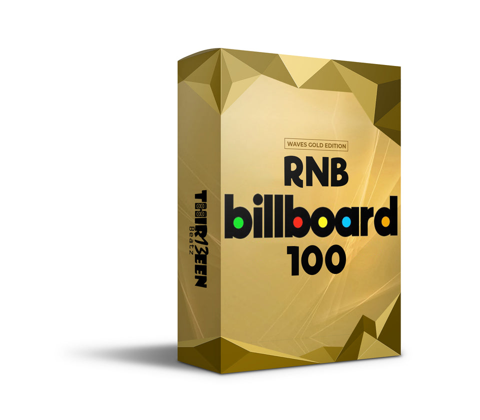 RNB BILLBOARD 100 (WAVES GOLD EDITION) - VOCAL CHAIN PRESET FOR LOGIC PRO X