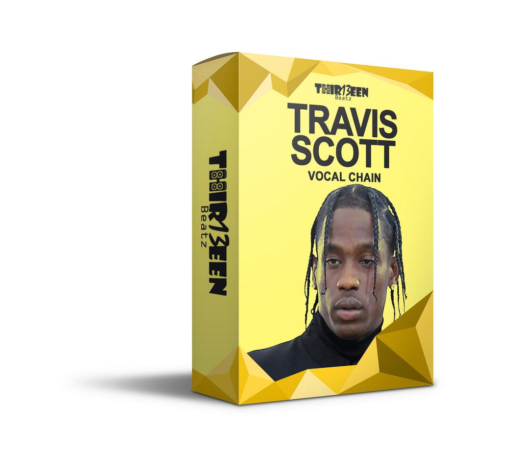 TRAVIS SCOTT VOCAL CHAIN PRESET FOR LOGIC PRO