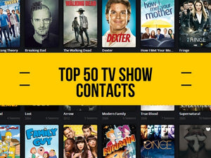 Top 50 TV Show Contacts List