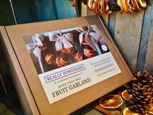 Make Your Own Fruit Garland Kit - with Natural Hessian Bows