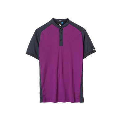 GreenRabbit Golf, J. Lindeberg, Edward Slim TX Jersey Deep Purple, Shirt - GreenRabbit Golf GOLFFASHION & LIFESTYLE