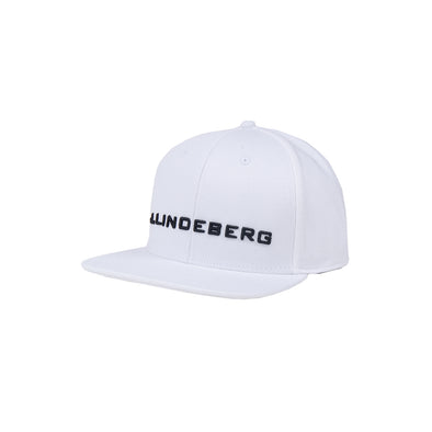 GreenRabbit Golf, J. Lindeberg, Colton Cap Flexi Twill White, Cap - GreenRabbit Golf GOLFFASHION & LIFESTYLE