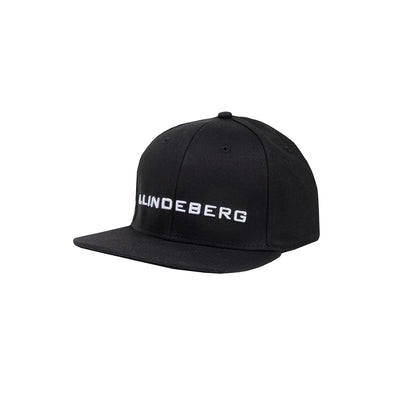 GreenRabbit Golf, J. Lindeberg, Colton Cap Flexi Twill Black, Cap - GreenRabbit Golf GOLFFASHION & LIFESTYLE