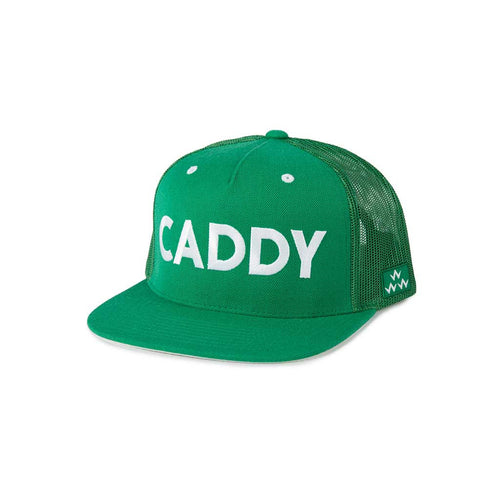 GreenRabbit Golf, Birds of Condor, Caddy Trucker Snapback Green, Cap - GreenRabbit Golf GOLFFASHION & LIFESTYLE