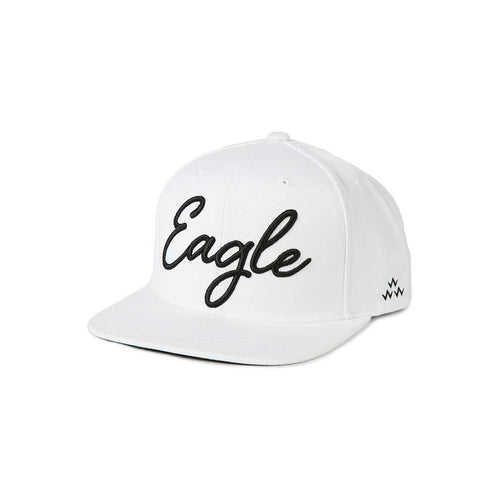 GreenRabbit Golf, Birds of Condor, Eagle Snapback White, Cap - GreenRabbit Golf GOLFFASHION & LIFESTYLE