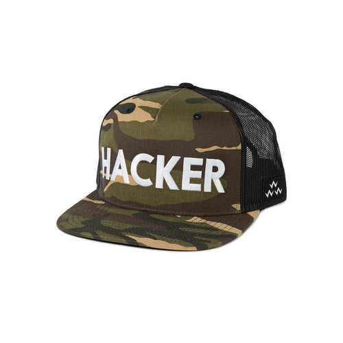 GreenRabbit Golf, Birds of Condor, Hacker Trucker Snapback Camouflage, Cap - GreenRabbit Golf GOLFFASHION & LIFESTYLE