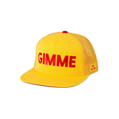 GreenRabbit Golf, Birds of Condor, Gimmie Trucker Snapback Yellow, Cap - GreenRabbit Golf GOLFFASHION & LIFESTYLE