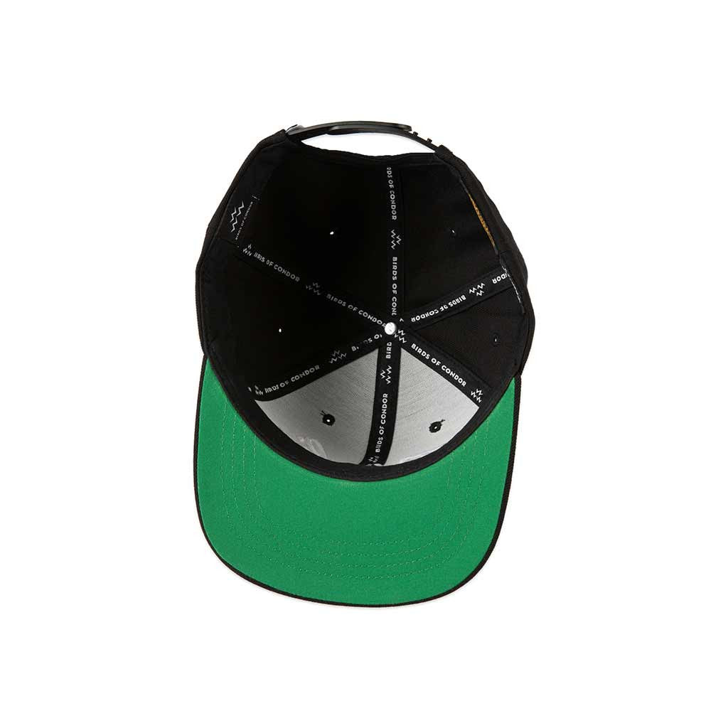 6be42ea5 Birds of Condor Birdie Snapback Black – GreenRabbit Golf