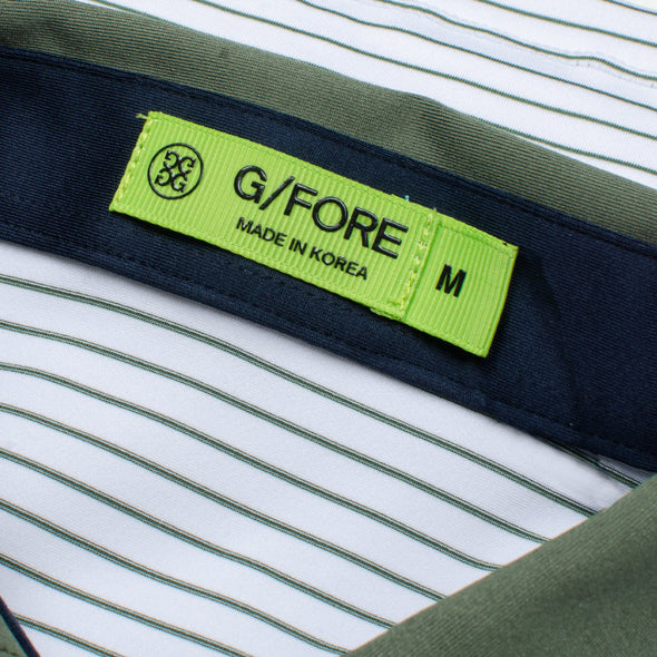 GreenRabbit Golf, G/Fore, Narrow Stripe Polo, Shirt - GreenRabbit Golf GOLFFASHION & LIFESTYLE