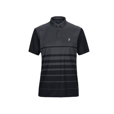 GreenRabbit Golf, Peak Performance, Bandon PRPO Golf Polo Herren-Shirt Iron Cast, Shirt - GreenRabbit Golf GOLFFASHION & LIFESTYLE