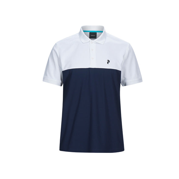 GreenRabbit Golf, Peak Performance, Spin Polo Herren-Shirt Blue Shadow, Shirt - GreenRabbit Golf GOLFFASHION & LIFESTYLE