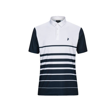 GreenRabbit Golf, Peak Performance, Bandon PRPO Golf Polo Herren-Shirt White, Shirt - GreenRabbit Golf GOLFFASHION & LIFESTYLE